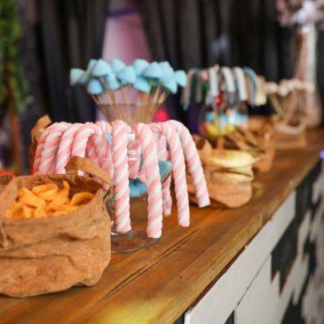 תמונה של ממתקים באירוע בת מצווה