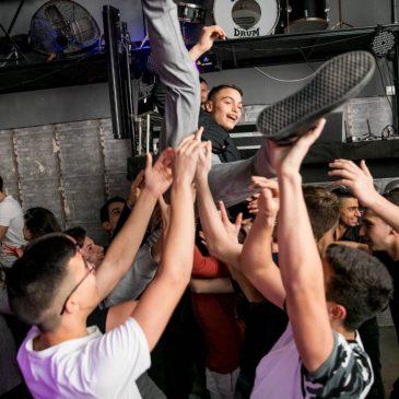 תמונה של חגיגת בר מצווה במועדון לבת מצווה